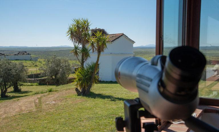 Telescopio para clientes